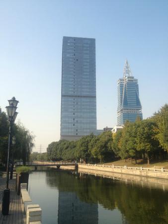 Shanghai Marriott Hotel Pudong East: Вид на отель