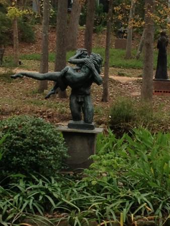 Umlauf Sculpture Garden & Museum: The Kiss