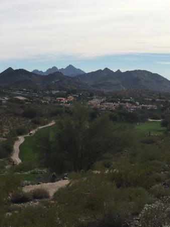 Lookout Mountain Golf Club: Surrounding mountains and real estate