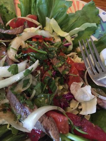The Seafood Bar & Grill: Thai beef salad