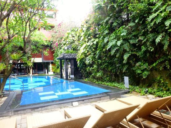 Green Garden Hotel: Poolside