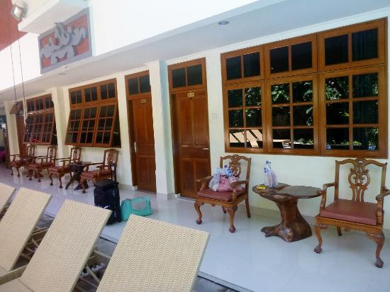 Green Garden Hotel: Room view