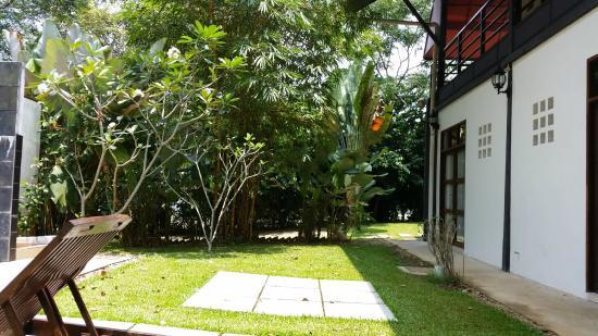 Basaga Holiday Residences: lovely greenery