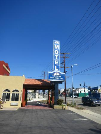 Americas Best Value Inn - Dodger Stadium / Hollywood : Americas Best Value Inn - Los Angeles