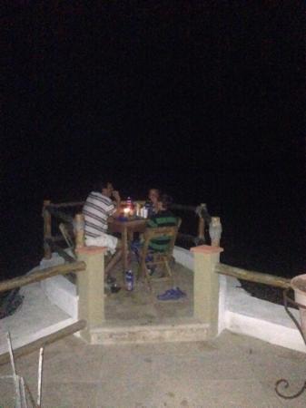 Kite Paradise Hotel & Resort: una cena romantica frente al mar