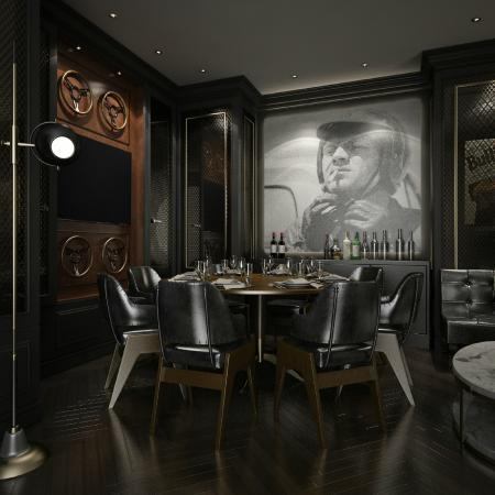 Le Merin Indianapolis Spoke Steele Private Dining Room