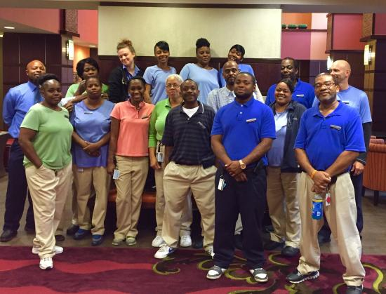 Hampton Inn & Suites Cincinnati/Uptown-University Area: Just a Few Amazing Staff