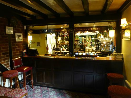 Chiselhampton, UK: Bar
