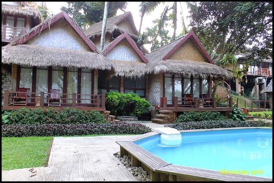 Ban Sabai Riverside Bungalow: ภายในบริเวณโรงแรม