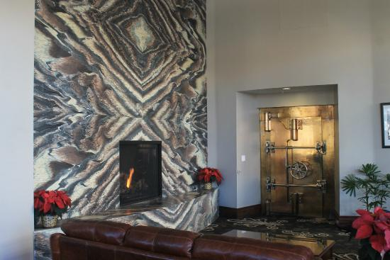 Fireplace In The Lobby Picture Of The Mining Exchange A Wyndham Grand Hotel Spa Colorado