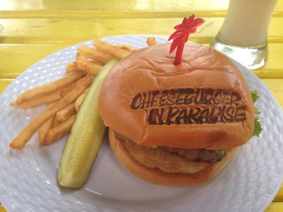 Island Village: What more can I say!! Cheeseburger in Paradise