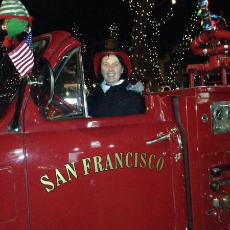San Francisco Fire Engine Tours & Adventures : Esther's ride