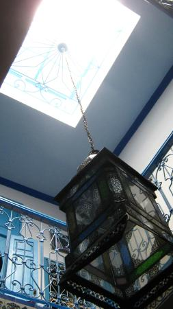 Riad nerja: Lamp & Skylight