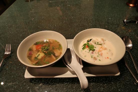 Saffron at Banyan Tree Phuket: When one soup isn't enough