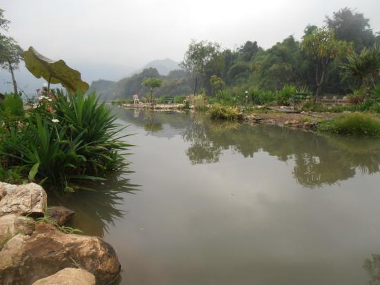 Kasem Island Resort: garden with a bay