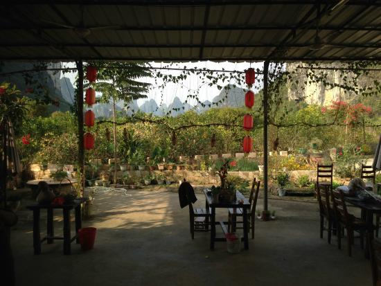 Yangshuo Moon Resort: Dining Room