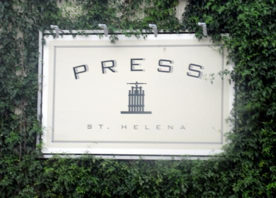 PRESS St. Helena: Press, St. Helena, Ca