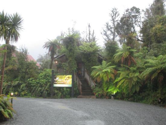 Entrance to the Rainforest Retreat.