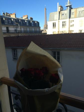 Hotel Muguet: The view during the day