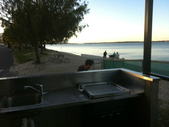 Broadwater Tourist Park: The view from our front verandah