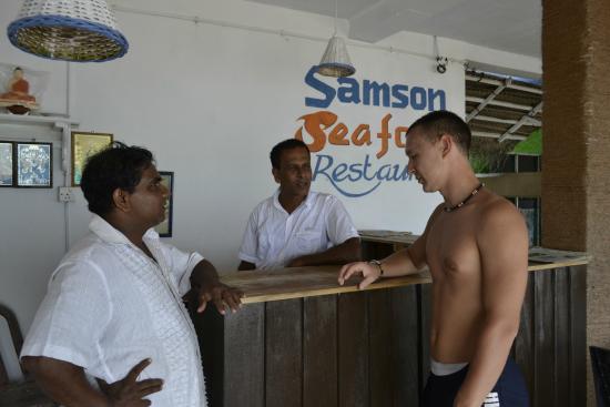 Samson Restaurant: Простое общение - никто не отменял