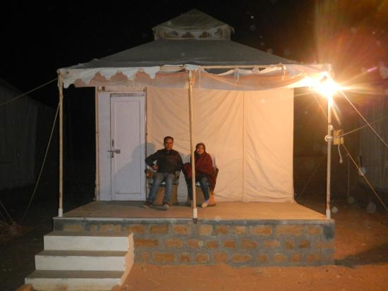 Sam Dhani Hotel : Quiet and relaxing tent houses