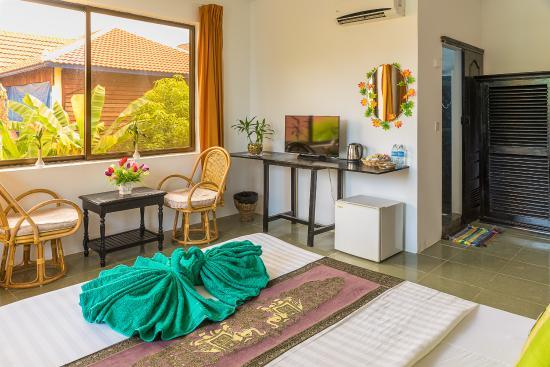 Green Village Angkor Hotel: delux room
