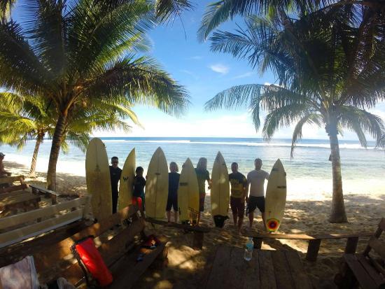 Big Green Surf School: Surfing in Siargao
