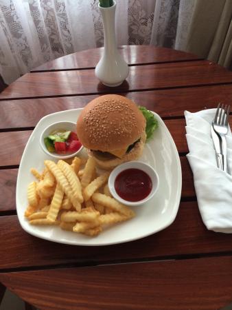 Soria Moria Fusion Kitchen: Soria Moria Burger
