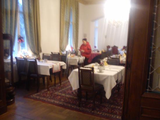 Pension Potsdam: Завтрак