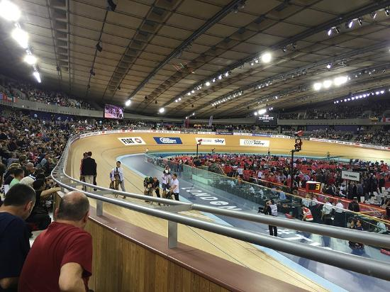 Lee Valley VeloPark: The view from my seat was perfect.