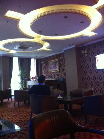 Topkapi Sabena Hotel: Hall