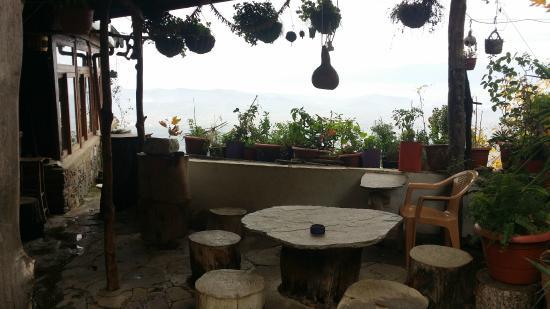 Kaplan Dag Restaurant: View