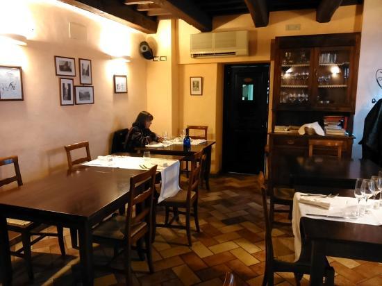 Locanda Le Logge : sala da pranzo