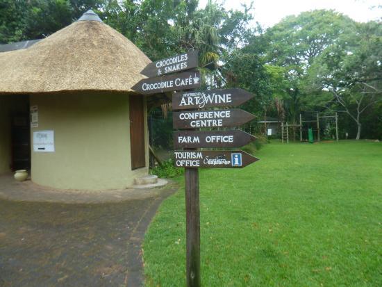 Riverbend Crocodile Farm: Lovely setting