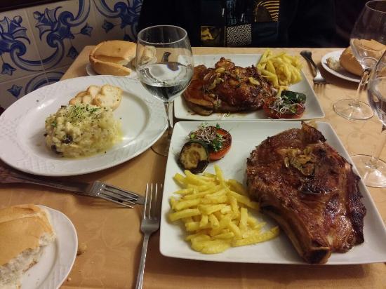 Restaurante Valencia: Chuleton de ternera salmantina