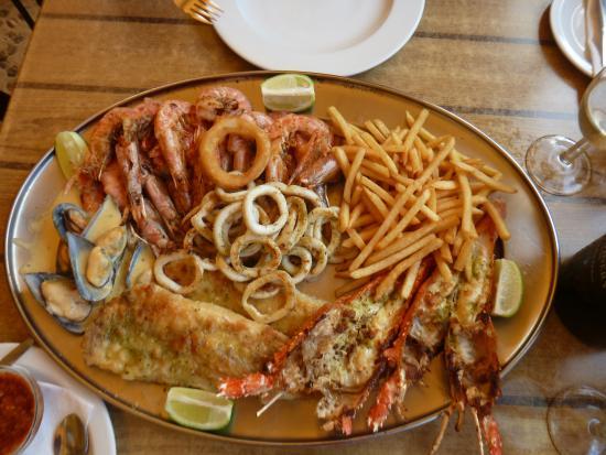 Crayfish Inn: Seafood Platter