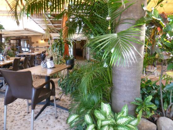 Crayfish Inn: Outside seating area
