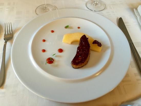 Le Jardin Secret : Foie gras pôelé