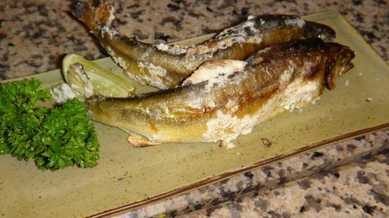 Tengoku De Cuisine: Ayu charcoal grilled fish