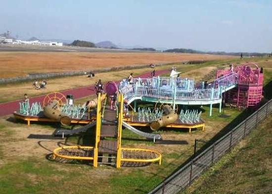 Takamatsu, Japón: 大型遊具