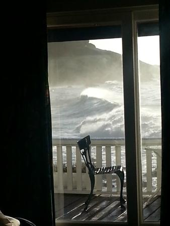 Land's End Guest House: View from the room.
