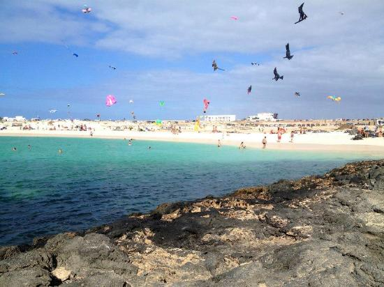 El Cotillo, إسبانيا: la playa e il festival degli aquiloni