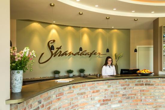 Rezeption Strandhafer Aparthotel