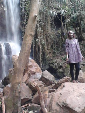 Paradise lost: this is the waterfall that is next to the caves