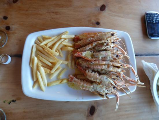 Blue Lagoon Restaurant : Mouthwatering Lango's
