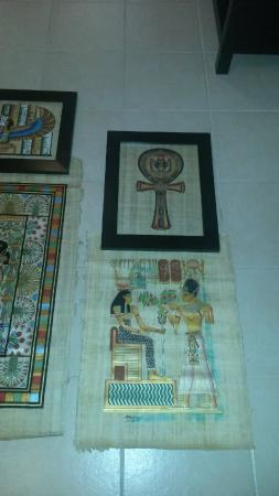 Papyrus Institute: Look at the bottom picture and the blue...completely ruined.