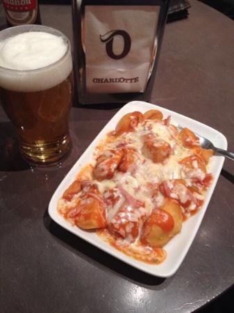 Charlotte Avila: patatas piza