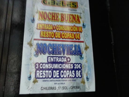 Bar De Copas Cibeles