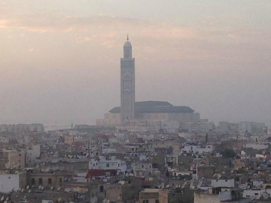 Hyatt Regency Casablanca: View towards the Great Mosque
